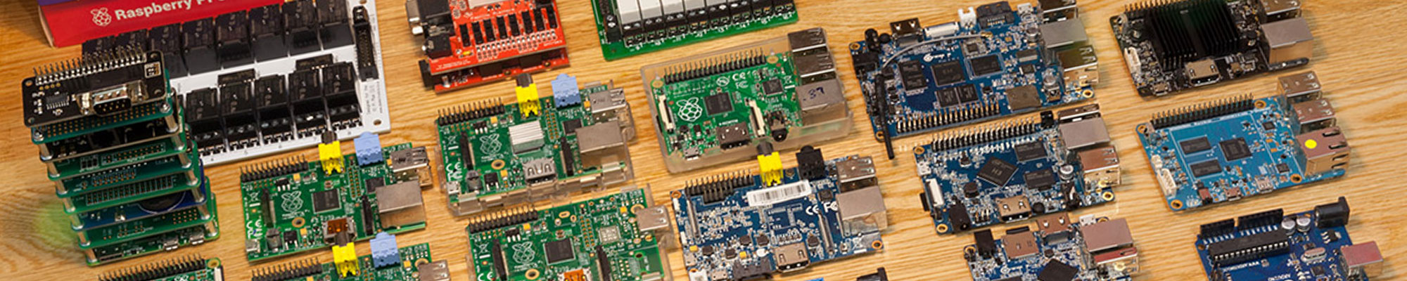 Raspberry Pi, Odroid, Orange Pi and Asus Tinker image