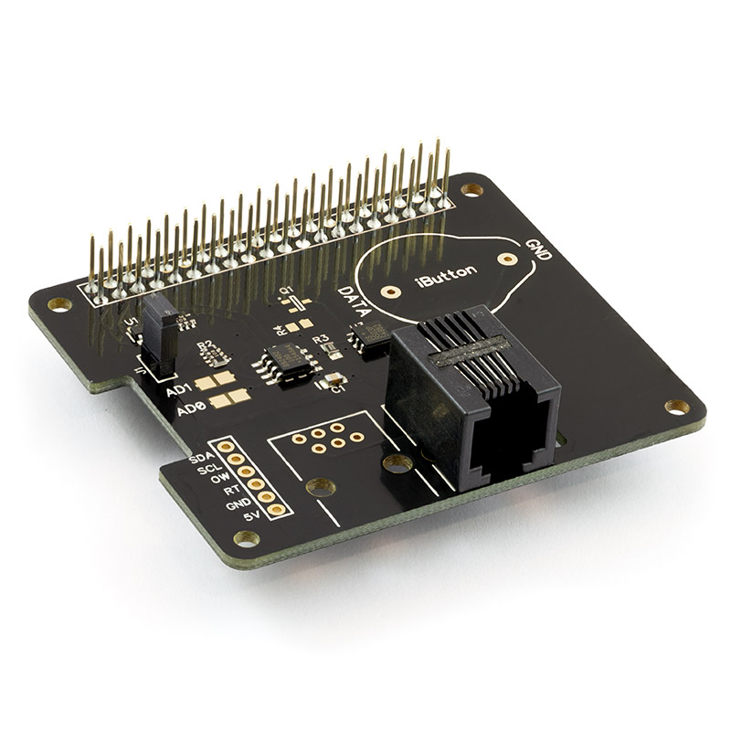1-Wire expansion board for the Raspberry Pi