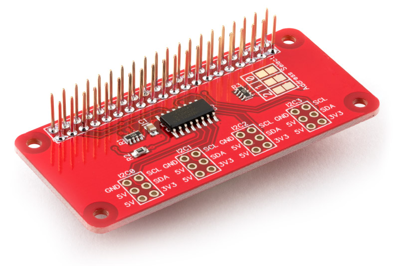 I2C Switch expansion board for the Raspberry Pi