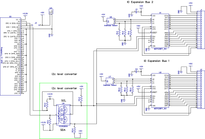 Schematic on I O Port Expander Schematic