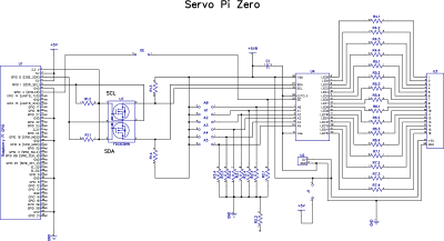 Servo PWM Pi Zero - 16-channel, 12-bit PWM Controller on raspberry pi foundation, lcd schematic, acorn computers, xbox 360 schematic, acorn archimedes, bluetooth schematic, beagle board, orange pi schematic, ipad schematic, computer schematic, gpio pinout schematic, bbc micro, banana pi schematic, scr dimmer schematic, single-board computer, zx spectrum, rs232 isolator schematic, scr motor control schematic, atmega328 schematic, usb schematic,