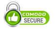Secured by Comodo SSL Encryption